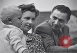 Image of trade exhibition after World War 2 Scotland United Kingdom, 1950, second 22 stock footage video 65675032850