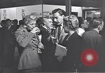 Image of trade exhibition after World War 2 Scotland United Kingdom, 1950, second 45 stock footage video 65675032850