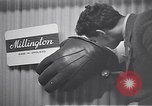 Image of trade exhibition after World War 2 Scotland United Kingdom, 1950, second 55 stock footage video 65675032850