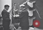 Image of trade exhibition after World War 2 Scotland United Kingdom, 1950, second 62 stock footage video 65675032850