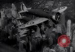 Image of P-26 Peashooter New York City USA, 1938, second 52 stock footage video 65675032870