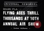 Image of 10th All American Air Maneuvers Miami Florida USA, 1937, second 3 stock footage video 65675032888