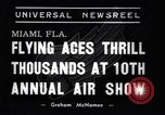 Image of 10th All American Air Maneuvers Miami Florida USA, 1937, second 7 stock footage video 65675032888