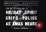 Image of policemen New York City USA, 1937, second 1 stock footage video 65675032890