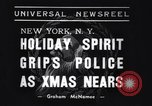 Image of policemen New York City USA, 1937, second 7 stock footage video 65675032890