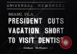 Image of Franklin D Roosevelt Miami Florida USA, 1937, second 1 stock footage video 65675032892