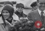 Image of Colonel Charles Augustus Lindberh Moscow Russia Soviet Union, 1933, second 50 stock footage video 65675032948