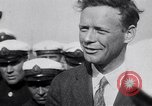Image of Colonel Charles Augustus Lindberh Moscow Russia Soviet Union, 1933, second 53 stock footage video 65675032948