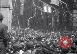 Image of Crowds in New York City celebrate end of World War II in Europe New York City USA, 1945, second 6 stock footage video 65675032951