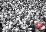 Image of Crowds in New York City celebrate end of World War II in Europe New York City USA, 1945, second 14 stock footage video 65675032951