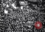Image of Crowds in New York City celebrate end of World War II in Europe New York City USA, 1945, second 17 stock footage video 65675032951
