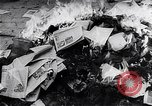 Image of burning books during the Hungarian Revolution Hungary, 1956, second 6 stock footage video 65675033230