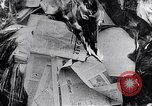 Image of burning books during the Hungarian Revolution Hungary, 1956, second 10 stock footage video 65675033230