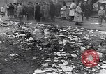 Image of burning books during the Hungarian Revolution Hungary, 1956, second 26 stock footage video 65675033230