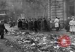 Image of burning books during the Hungarian Revolution Hungary, 1956, second 27 stock footage video 65675033230