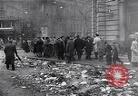 Image of burning books during the Hungarian Revolution Hungary, 1956, second 28 stock footage video 65675033230