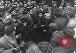 Image of burning books during the Hungarian Revolution Hungary, 1956, second 58 stock footage video 65675033230