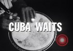 Image of Havana Cuba as place of gaiety and commercial activity Cuba, 1959, second 10 stock footage video 65675033246