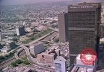 Image of skyscrapers Los Angeles California USA, 1976, second 25 stock footage video 65675033248