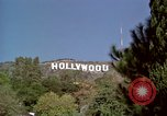 Image of Hollywood sign Hollywood Los Angeles California USA, 1976, second 2 stock footage video 65675033262