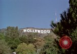 Image of Hollywood sign Hollywood Los Angeles California USA, 1976, second 4 stock footage video 65675033262
