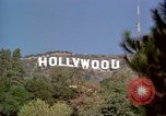 Image of Hollywood sign Hollywood Los Angeles California USA, 1976, second 9 stock footage video 65675033262