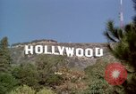 Image of Hollywood sign Hollywood Los Angeles California USA, 1976, second 10 stock footage video 65675033262