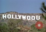 Image of Hollywood sign Hollywood Los Angeles California USA, 1976, second 12 stock footage video 65675033262