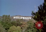 Image of Hollywood sign Hollywood Los Angeles California USA, 1976, second 17 stock footage video 65675033262