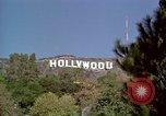 Image of Hollywood sign Hollywood Los Angeles California USA, 1976, second 20 stock footage video 65675033262
