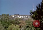 Image of Hollywood sign Hollywood Los Angeles California USA, 1976, second 21 stock footage video 65675033262