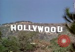 Image of Hollywood sign Hollywood Los Angeles California USA, 1976, second 27 stock footage video 65675033262