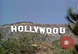 Image of Hollywood sign Hollywood Los Angeles California USA, 1976, second 28 stock footage video 65675033262