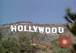 Image of Hollywood sign Hollywood Los Angeles California USA, 1976, second 29 stock footage video 65675033262
