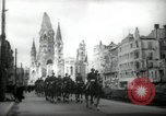 Image of American horse platoon Berlin Germany, 1947, second 5 stock footage video 65675033267