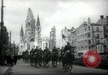 Image of American horse platoon Berlin Germany, 1947, second 6 stock footage video 65675033267