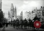Image of American horse platoon Berlin Germany, 1947, second 8 stock footage video 65675033267