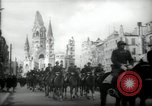 Image of American horse platoon Berlin Germany, 1947, second 9 stock footage video 65675033267