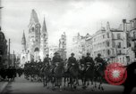 Image of American horse platoon Berlin Germany, 1947, second 10 stock footage video 65675033267