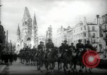 Image of American horse platoon Berlin Germany, 1947, second 11 stock footage video 65675033267