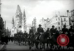 Image of American horse platoon Berlin Germany, 1947, second 12 stock footage video 65675033267