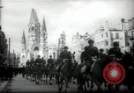 Image of American horse platoon Berlin Germany, 1947, second 13 stock footage video 65675033267