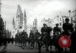 Image of American horse platoon Berlin Germany, 1947, second 14 stock footage video 65675033267