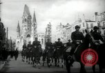 Image of American horse platoon Berlin Germany, 1947, second 15 stock footage video 65675033267