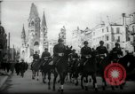 Image of American horse platoon Berlin Germany, 1947, second 17 stock footage video 65675033267