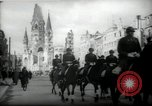 Image of American horse platoon Berlin Germany, 1947, second 19 stock footage video 65675033267