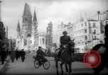 Image of American horse platoon Berlin Germany, 1947, second 22 stock footage video 65675033267
