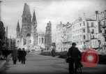 Image of American horse platoon Berlin Germany, 1947, second 25 stock footage video 65675033267