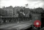 Image of American horse platoon Berlin Germany, 1947, second 29 stock footage video 65675033267