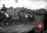 Image of American horse platoon Berlin Germany, 1947, second 31 stock footage video 65675033267